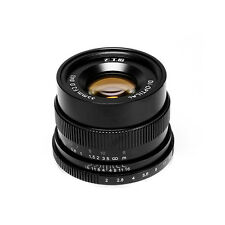 7artisans Manual Lens 35mm/f2 for Fuji Camera X-A1 X-A10 X-A2 X-A3 X-AT X-M1 XM2