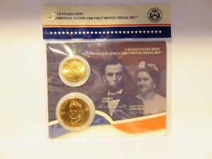 4 Different Presidential $1Coin and 1st Spouse Medal Sets, SEE BELOW #2