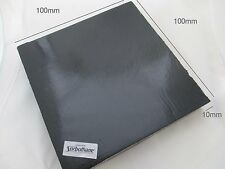 """Sorbothane 10mm Vibration Isolation Pad Sheet Mat 10*90*100mm 3/8"""" Thick Square"""