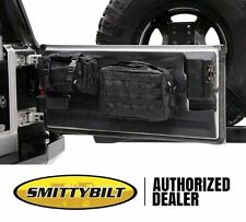 Smittybilt G.E.A.R. MOLLE Tailgate Cover & 2 Pouches 97-06 Jeep Wrangler TJ LJ
