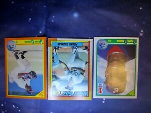 FRANK THOMAS #414 1990 TOPPS ROOKIE, 86T SCORE ROOKIE & 663 SCORE ROOKIE CARDS!!