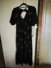 Topshop 8 Maternity Star Angel Dress Black