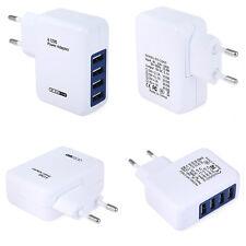 Neu EU Schnell 4 Port USB Reise Ladegeräte Adapter Netzteil Stecker Charger Haus