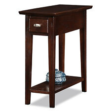 Living Room End Table Sofa Side Wood Furniture Drawer Shelf Decor Lamp Stand New