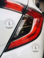 2017 Honda Civic HATCHBACK Tail Light SMOKE Rear Signal Reverse Overlays Tint