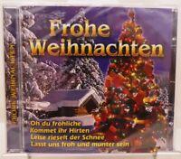 Frohe Weihnachten + CD + Stimmungsvolles Album mit 20 beliebte Weihnachtslieder