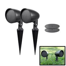 "Pair of 2.5"" Satellite Audio Speakers Outdoor Burial Weather & UV Resistant"