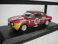 Alfa Romeo Gta 1300 Junior #40 12hrs Paul Ricard 1/18 minichamps 155711240 New