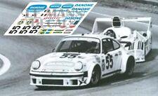 Calcas Porsche 934 Le Mans 1977 55 1:32 1:43 1:24 1:18 decals