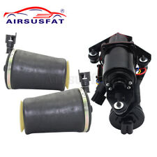 Air Compressor Pump & Air Spring Bags For Lincoln Town Car Ford Crown Mercury