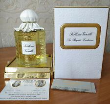 Creed SUBLIME VANILLE, EDP, 250 ml  8.4 Oz, BATCH C0114F01, SPLASH BOTTLE