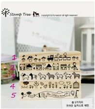 Unbranded Animals Rubber Stamps