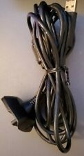 Official Microsoft Xbox 360 Play and Charge cable OEM 9 ft Cable only used works