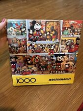 Vintage Mouskamania Mickey Mouse 1000 Piece Puzzle