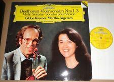 Gidon Kremer/Martha Argerich BEETHOVEN Violin Sonatas No.1-3 - DG 415 138-1