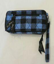 Vera Bradley Alpine Check Wristlet for iPhone 6 7 8 All In One Crossbody Wallet