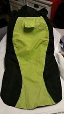 New listing Be Seen Neon Green Dog Waterproof Vest Coat Easy On/Off Xxxl ( 3X )