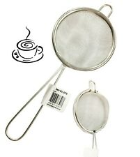 Tea Strainer 7 cm | Fine Metal Wire Mesh | Kitchen Straining Traditional Loose.