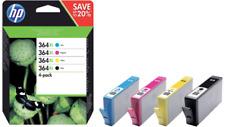 HP 364XL 4-pack High Yield Black/Cyan/Magenta/Yellow Original Ink EXP DEC 2022