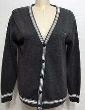 Abercombie & Fitch Gray Botton Down Woman Sweater/cardigan Size Large
