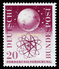 EBS Germany 1955 Promotion of Research Forschungsförderung Michel 214 MNH**