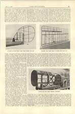 1920 Aeronautics Boulton Paul Fuselage Attachment Within Rudder Wing Frame