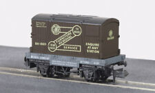 Conflat wagon with container - GWR Furniture Removals Peco NR-20