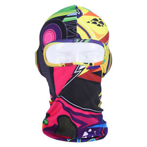 Balaclava Camo Face Mask UV Protection for Men Women Sun Hood Tactical Halloween