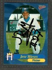 1999 Multi-Ad #19 Jose Mieses Helena Brewers Baseball Signed Autograph (B45)