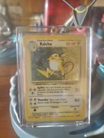 RAICHU - 14/102 - Base Set - Holo - Pokemon Card - EXC / NEAR MINT