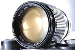 【DHL】【Near Mint 】Canon FD 135mm f/2.5 MF Telephoto Lens w/Caps From JAPAN