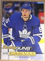 2019-20  UPPER DECK Serie 1, #C111 IYA MIKHEYEV YOUNG Guns CANVAS, Maple Leafs