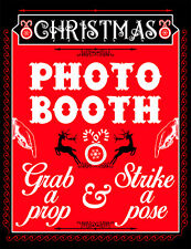 DIGITAL Christmas Photo Booth sign props NO PHYSICAL ITEM