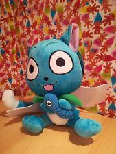 New With tags Fairytail Blue Cat Happy Manga Anime Japanese soft toy Plush