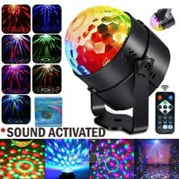 Disco Party Lights Stage Light Strobe LED DJ Ball Indoor Сolored Dance Bulb Lamp