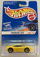 1995 Hotwheels Ferrari F355 355 Berlinetta Yellow! Mint! MOC!