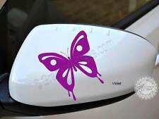 Butterfly Sticker, Car Wing Mirror Vinyl Graphic Decal x 2, Girly Bumper Sticker