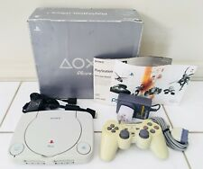 PS ONE Sony Playstation Console Boxed PS1 PAL Play Station Controller COMPLETE