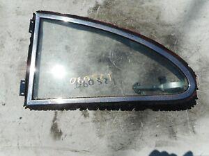 PORSCHE 356 B COUPE VENT QUARTER WINDOW GLASS LATCH 356B LEFT CLEAR T5