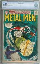 METAL MEN #11 CBCS 9.0 CR/OW PAGES