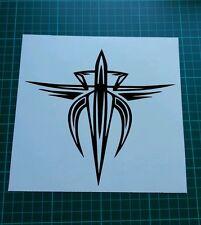 Supra tribal calcomanía con el logotipo de la etiqueta engomada rápido y el furioso