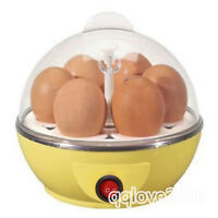 NEW Kitchen Electric Egg Boiler Cooker - Cooks up to 7 Eggs Hard or Soft Boiled