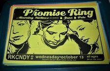 The Promise Ring 1999 Rkcndy Seattle Concert Poster 11x17