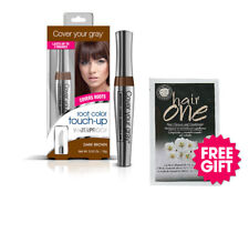 Cover Your Gray Waterproof Root Touchup- Dark Brown & FREE Hair Cleanser