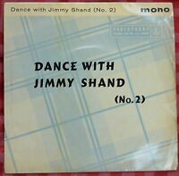 """Jimmy Shand – Dance With Jimmy Shand 7"""" – GEP 8823 – VG"""