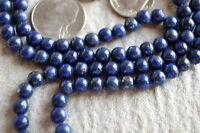 Fifth Chakra, Throat Chakra, 108 Lapis lazuli Mala Beads Necklace Communication