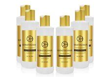 Keratin For Hair Sulfate Free Shine Repair Shampoo Conditioner Sale Bundle 8 OZ