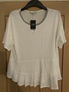 GORGEOUS IVORY TOP BY NEXT SIZE 12 BNWT.