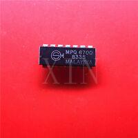 5PCS MPQ6700 PDIP-14 QUAD TRANSISTORS