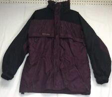 New listing Vintage 90's Men's Columbia Gizzmo Coat Medium Burgundy / Black Jacket Ski